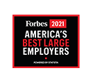 Forbes America's Best Employer 2021