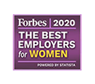 Forbes America's Best Employer for Women 2020