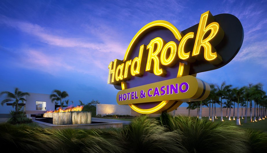Hard Rock Brand Pillar Monument