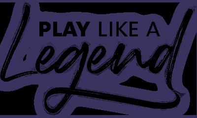 Play like a legend logo