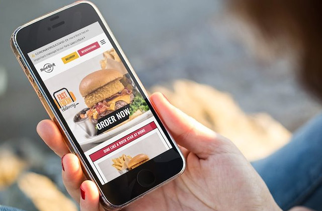 Order food to go on any device