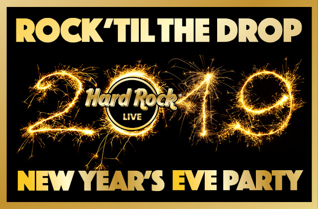 Rock 'Til The Drop 2019 New Year's Eve Party!