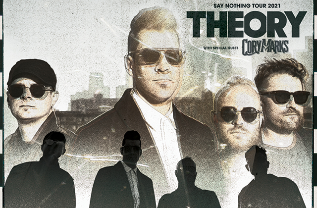 Theory Of A Deadman with special guest 10 Years & Eva under Fire