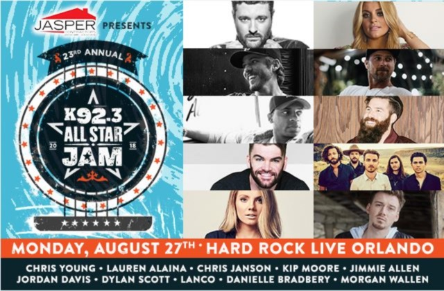 The 23rd Annual K92.3 All Star Jam Presented by Jasper Contracting