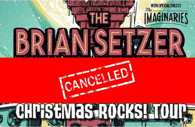 *CANCELLED* The Brian Setzer Orchestra Christmas Rocks! Tour