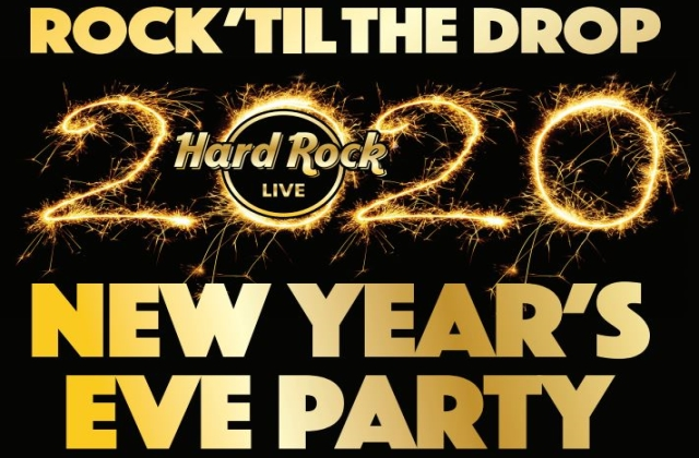 Rock 'Til The Drop 2020 New Year's Eve Party!